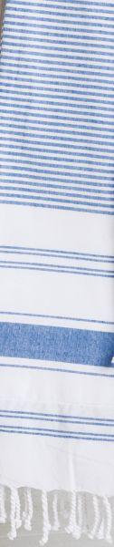TAUBERT HAMMAN Tuch mit Frottier Unterseite und Franzen