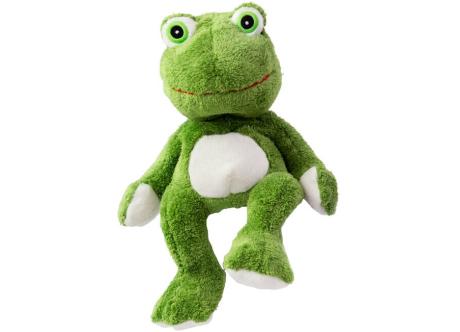Habibi Plush Wärmestofftier Frosch