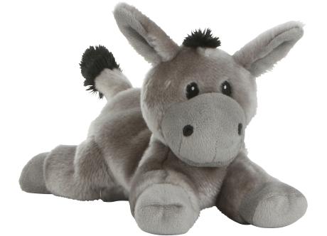 Habibi-Plush Wärmestofftier Esel