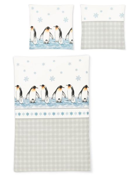 Irisette Bettwäsche »Eiszeit« 8311-11 mit Pinguin Motiv