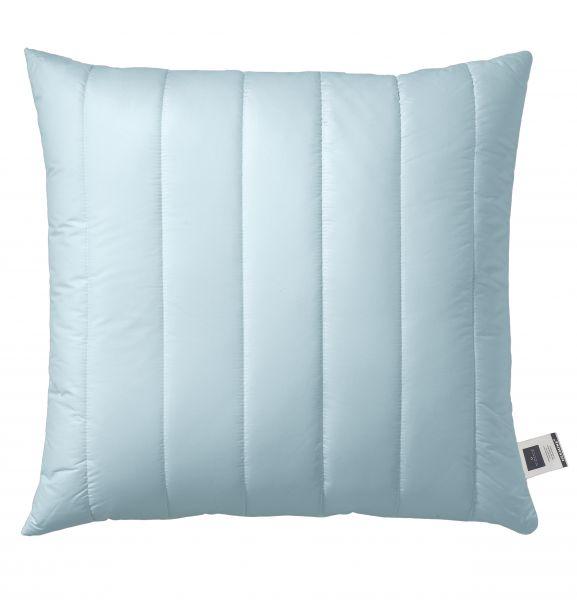 Billerbeck HERMINE® Faser Kissen einem gesteppten Bezug in aqua
