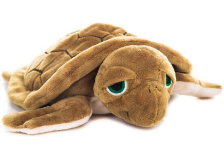 Habibi Wärmestofftier - Landschildkröte braun